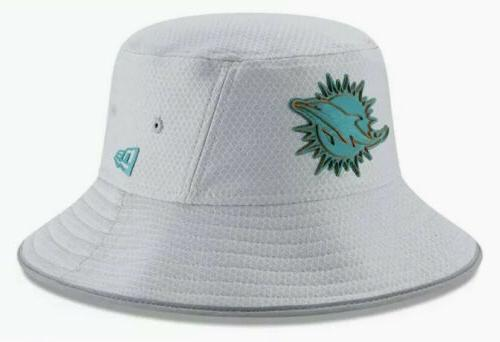 Miami Dolphins New Era Gray NFL Training Camp Official Bucke