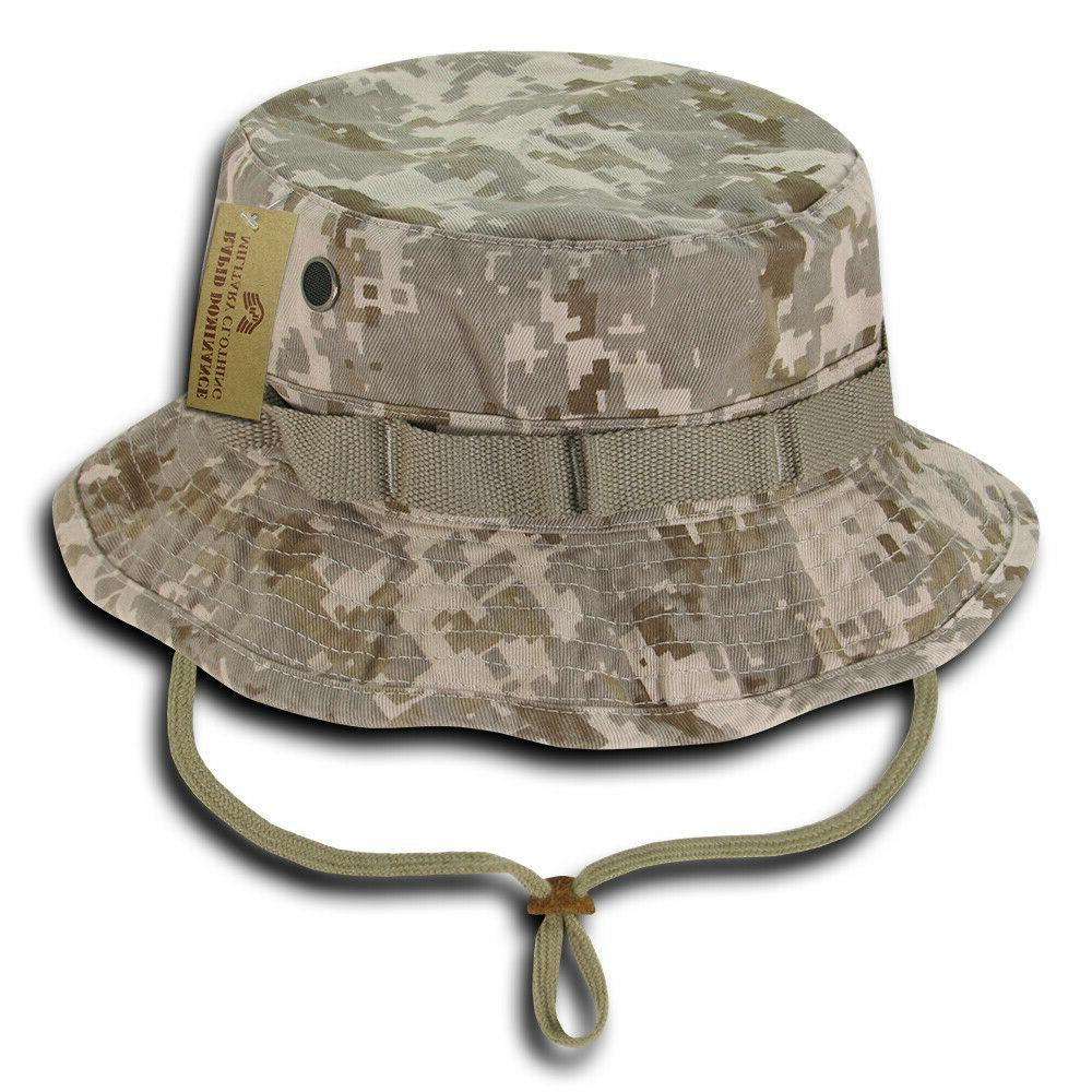 Military Boonie Hat Fishing Camping Hiking Golf Desert Digit