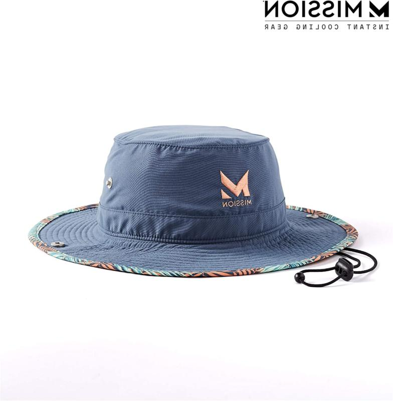 mission cooling bucket hat upf 50 3a