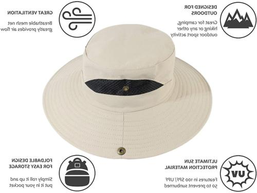 Mosquito Head Net Hat,Fishing Bucket Hat Safari Hat with Removable Head
