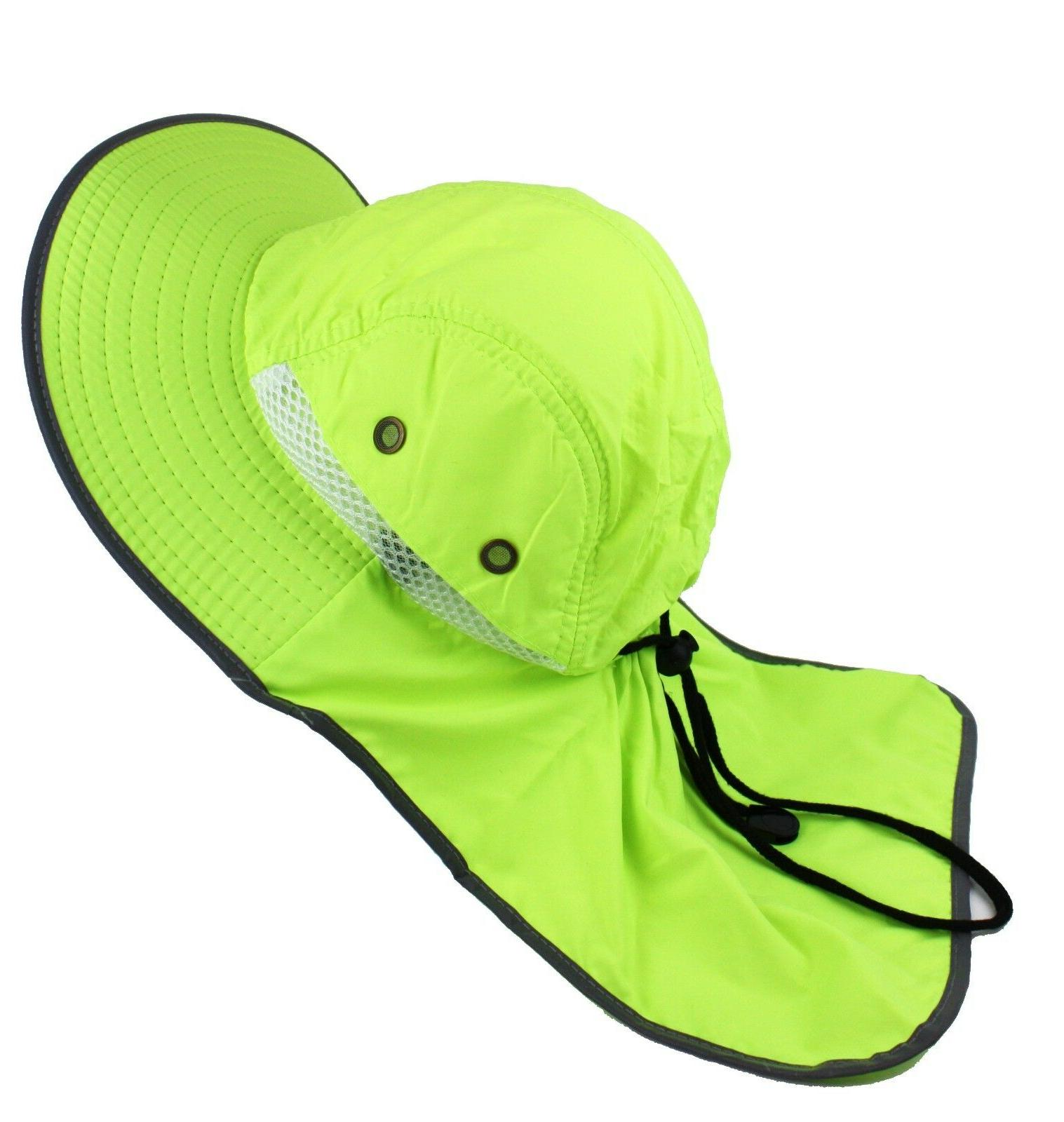 Boonie Hat Neck High Visibility Waterproof Cap Men