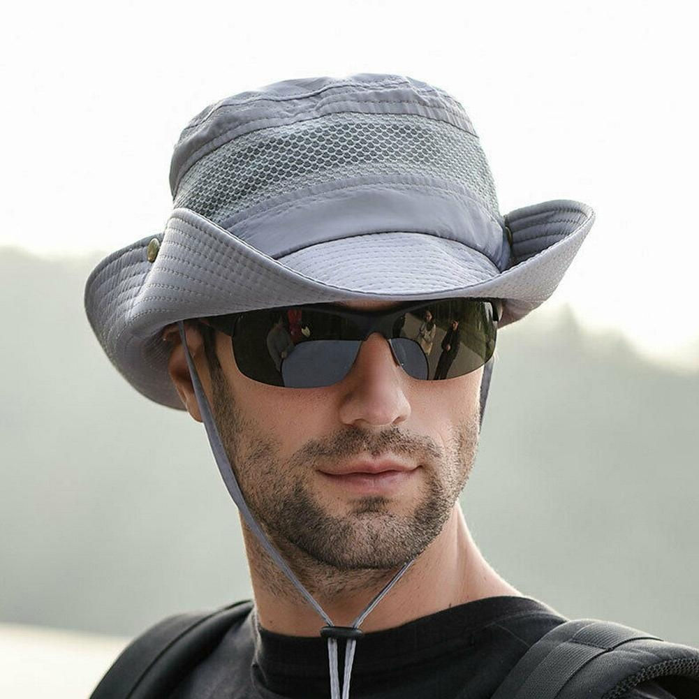 New <font><b>Cooling</b></font> <font><b>Bucket</b></font> UV Quick Hiking Cap