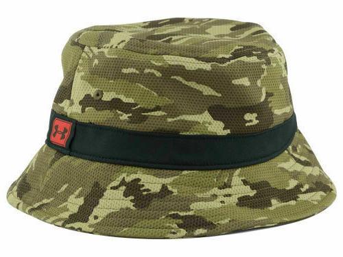 new camo khaki bucket hat fishing hunting