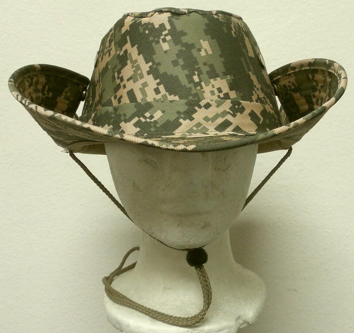 NEW DIGITAL ARMY BUCKET SUN BUSH JUNGLE HAT