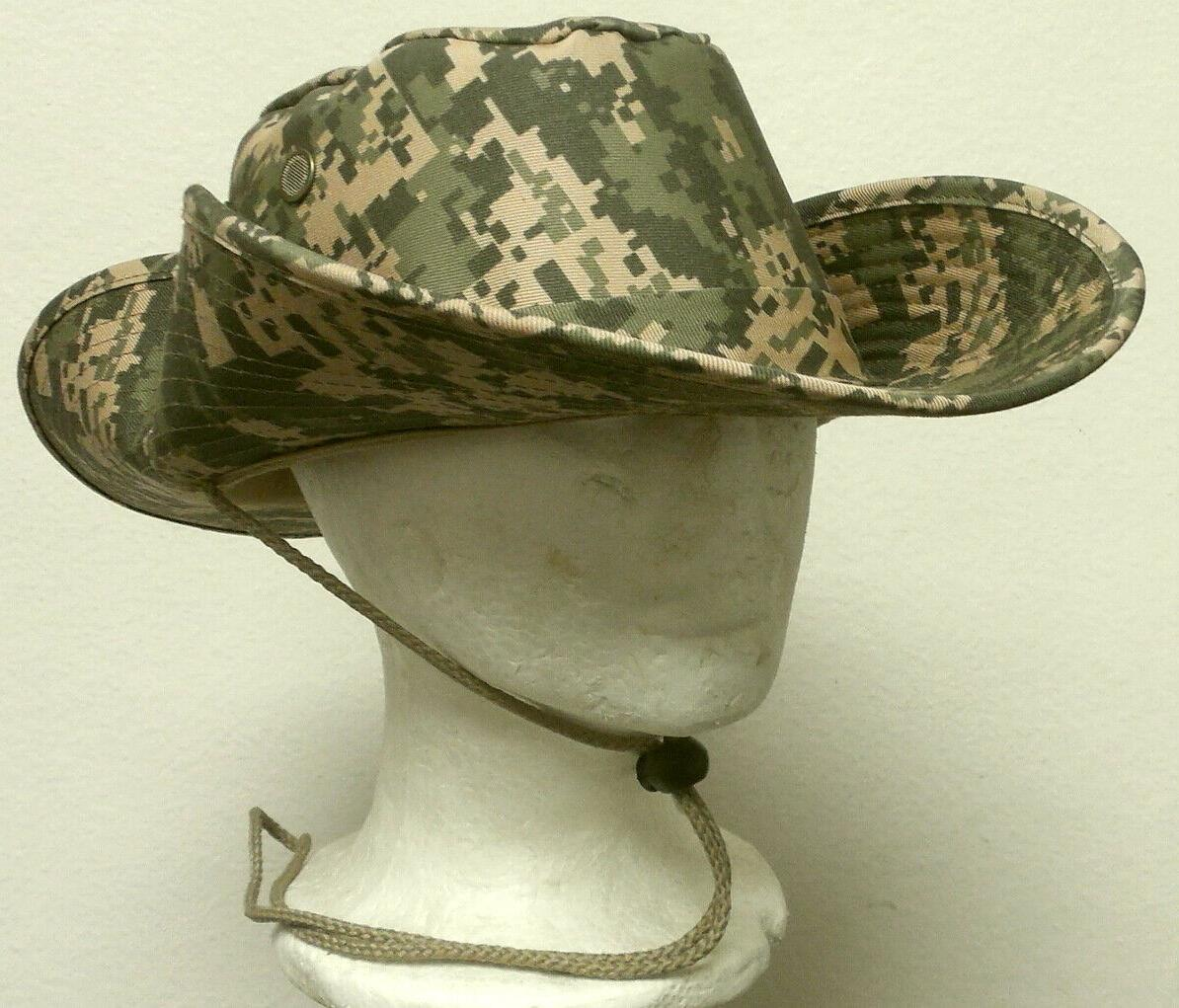 NEW DIGITAL BUCKET BUSH JUNGLE HAT