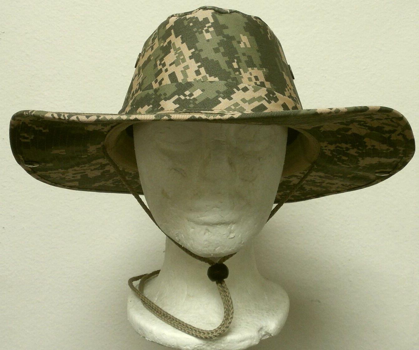 new digital army camo bucket sun uv