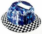 NEW Vans Off the Wall Hank Foto 2 Checkered Bucket Hat VN-03