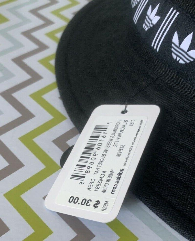 NEW Adidas Originals Black Bucket NWT