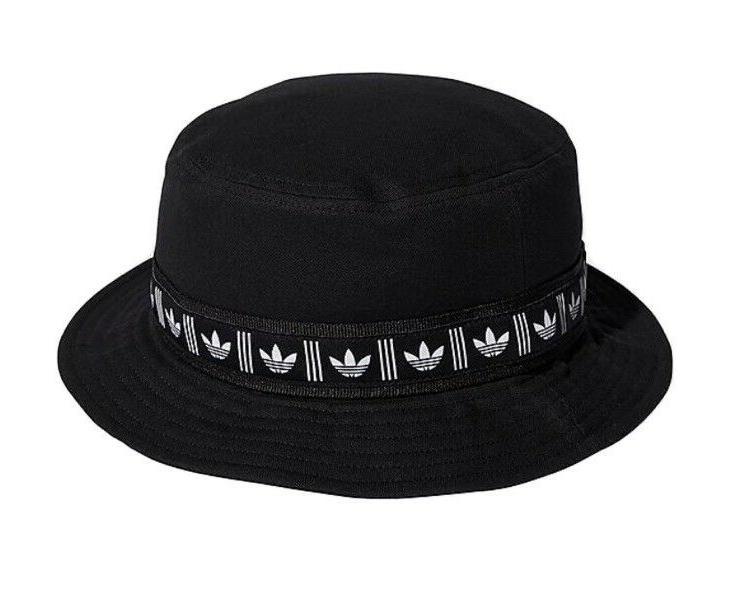 new originals webbing black white bucket hat