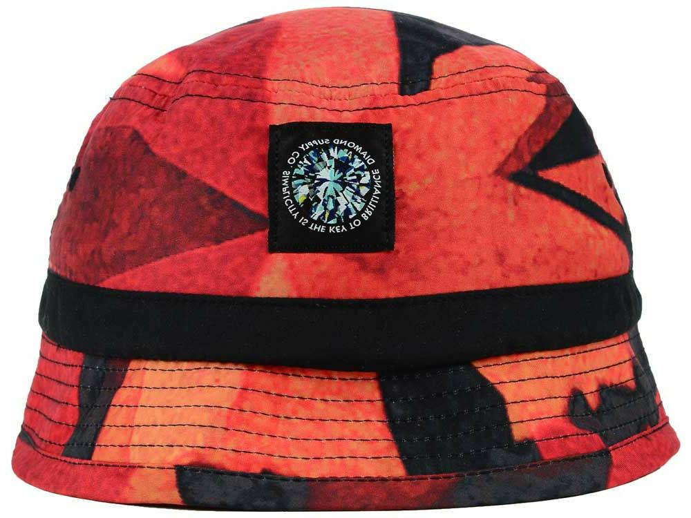 Diamond new Simplicity Red Fashion Bucket Hat Cap Small/Medi