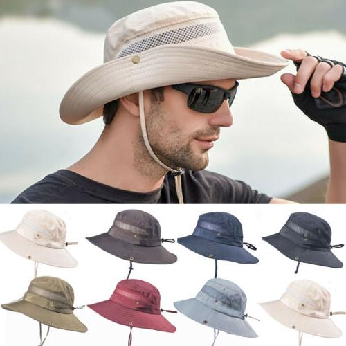 NEW Hat Bucket Hiking Cap Wide Protection Hat