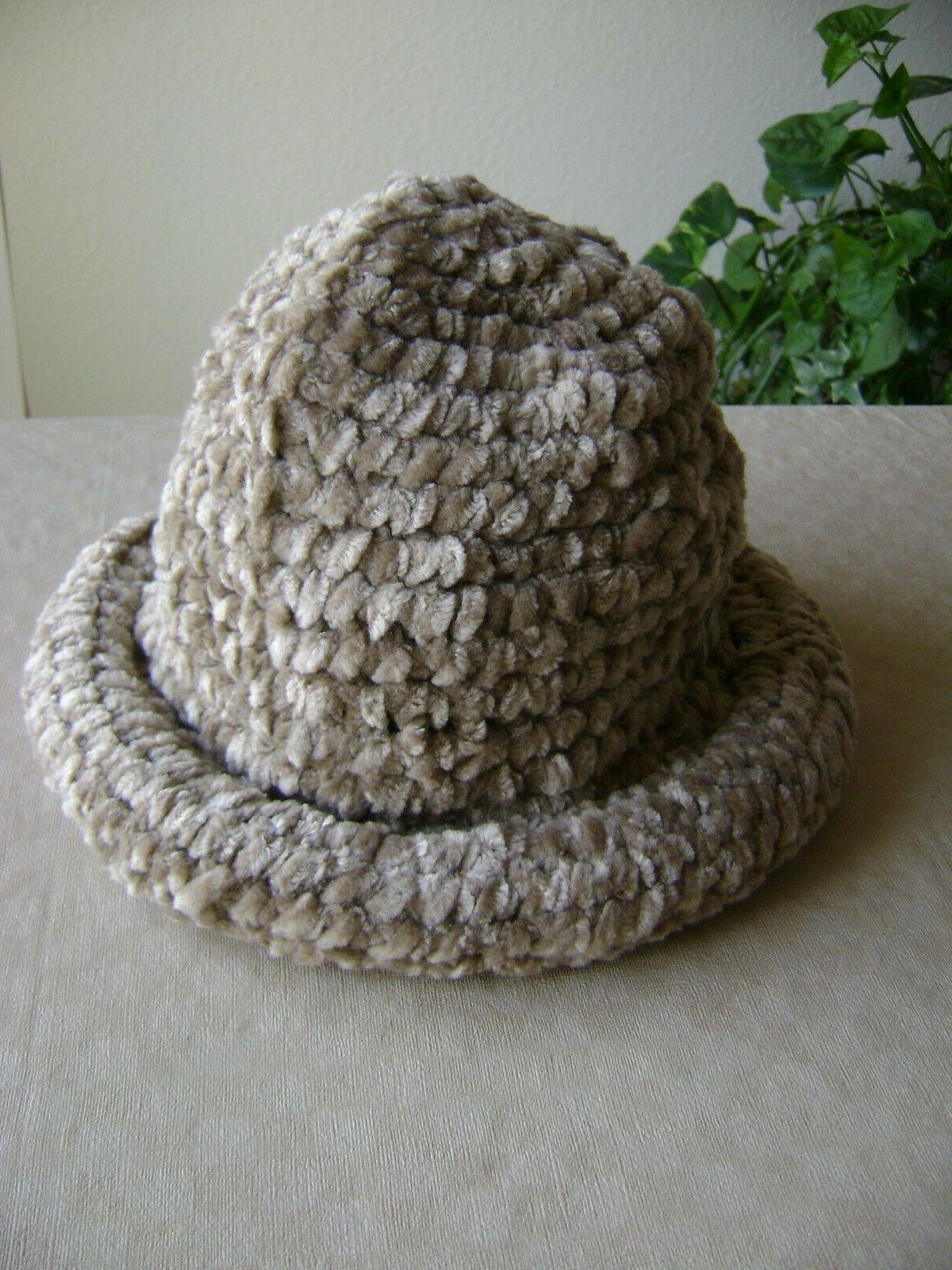 new women s bucket cloche hat chenille