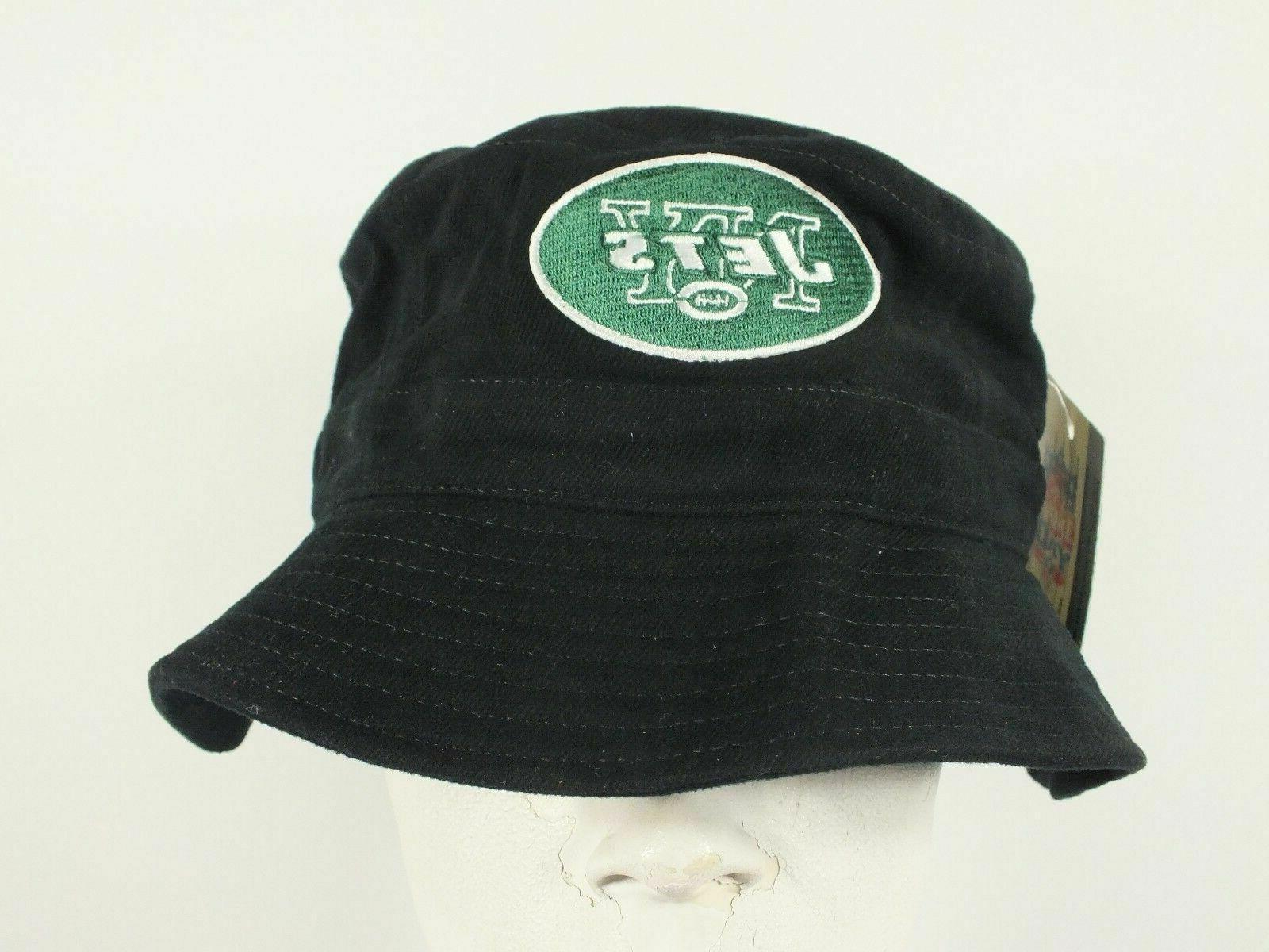 new york jets nfl vintage bucket hat