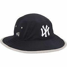 New York Yankees Men's New Era Navy Team Bucket 3 Hat