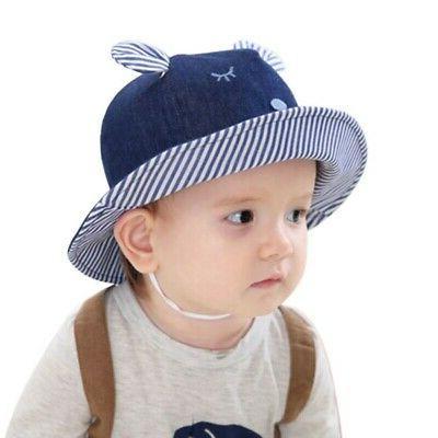 Newborn Hats Baby Girls Bucket Beach Cap