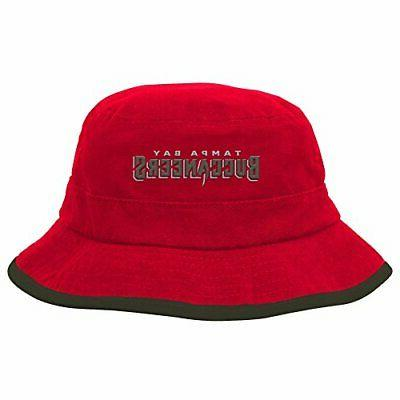 Outerstuff NFL Team Bucket Hat-Red-1 Tampa