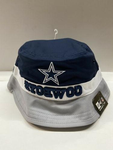 nfl dallas cowboys fearless fan bucket hat