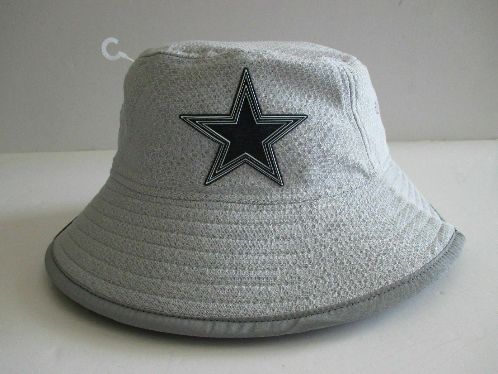 nfl dallas cowboys training bucket hat osfa