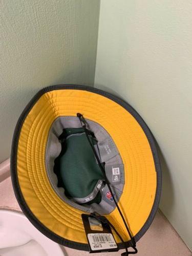 NFL GREEN BAY New Men's Sideline Training Bucket Hat