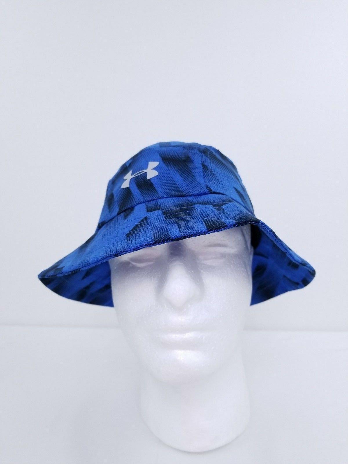 NWT BOYS UA HAT BLUE or BLACK, 1292089 $28