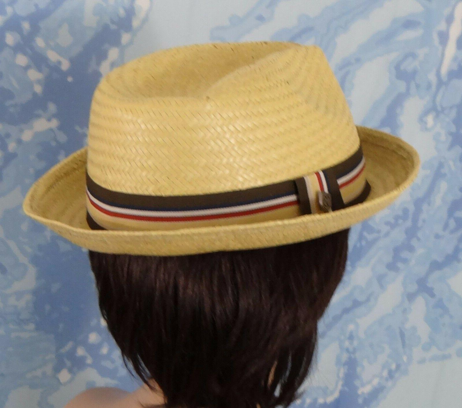 NWT Brixton straw Hat, size