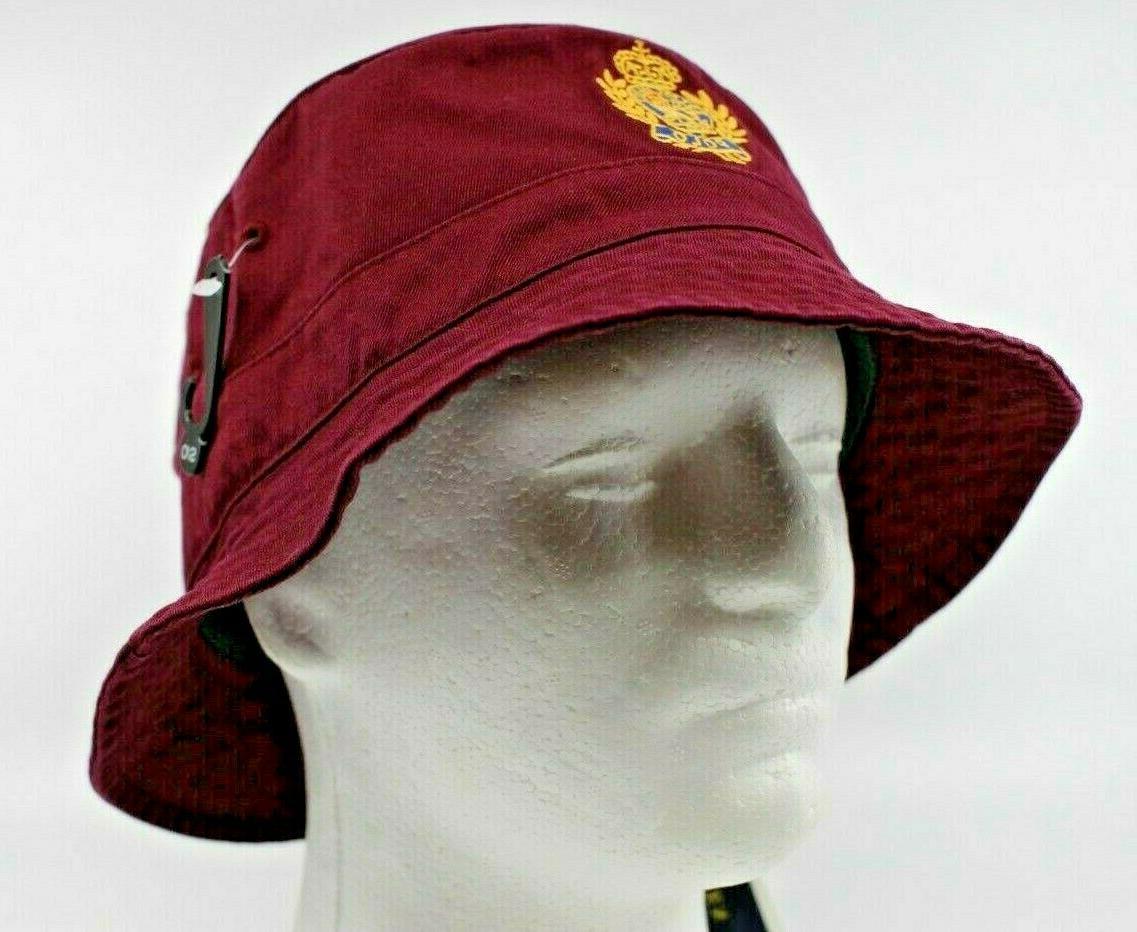 nwt crest cotton twill bucket hat l