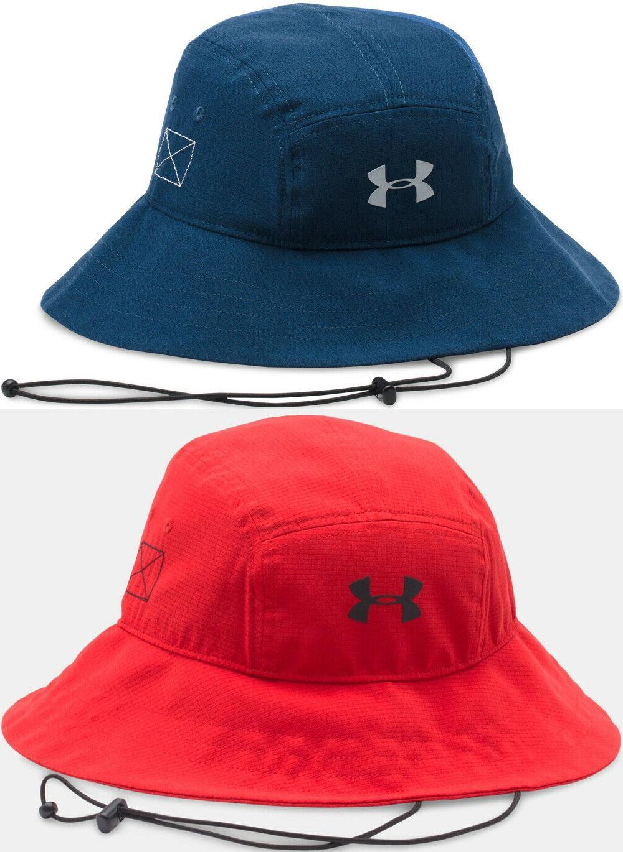 nwt men s armourvent bucket hat wide