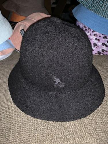 nwt mens bermuda casual bucket hat black