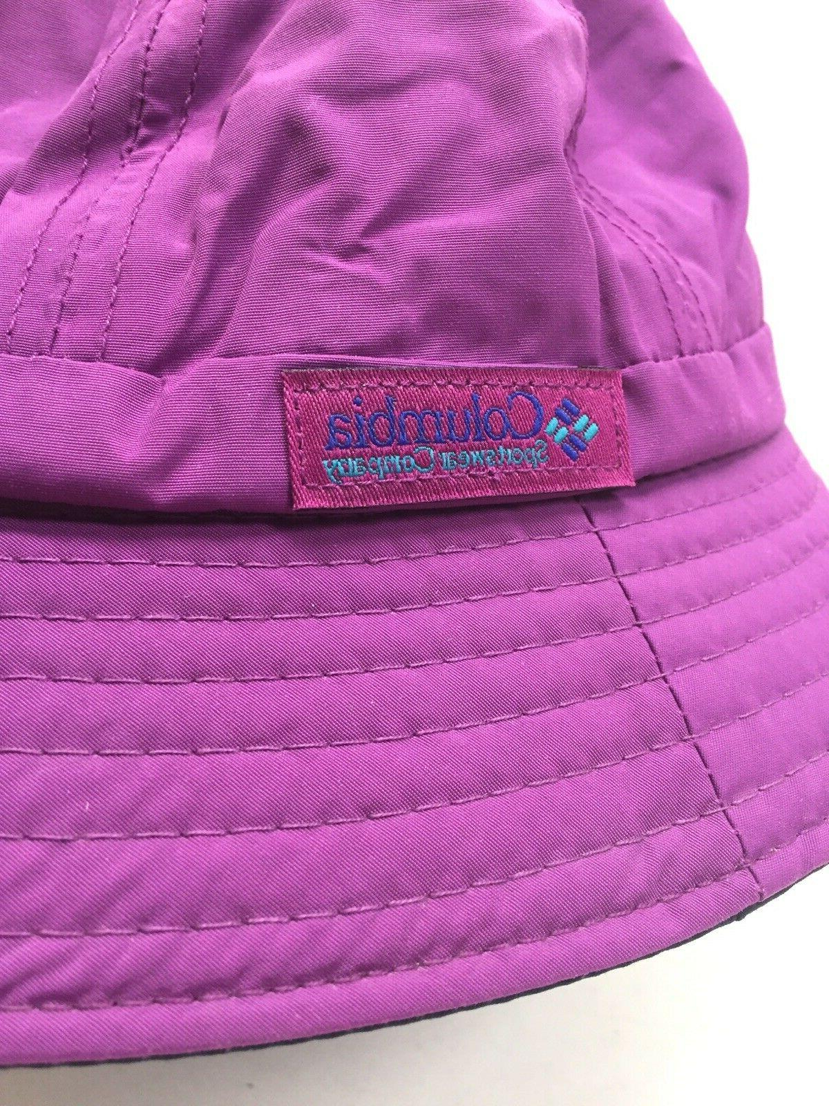 NWT Columbia Fishing Waterproof Bucket Cap Hiking ORCHID