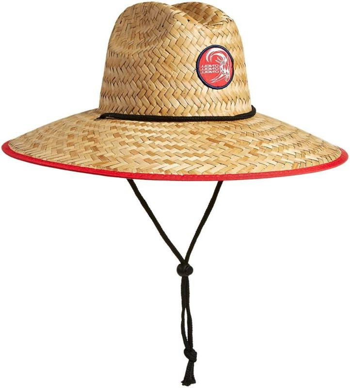 O'Neill Men's Sonoma Prints Straw Hat Stars/Stripes One Size