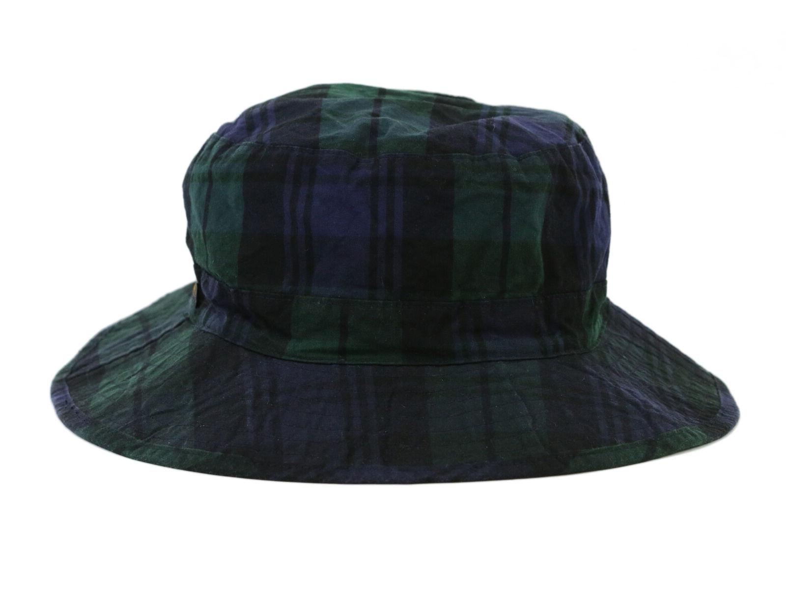 oil tin safari bucket hat cap blackwatch