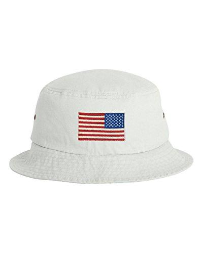 one size white adult usa american flag