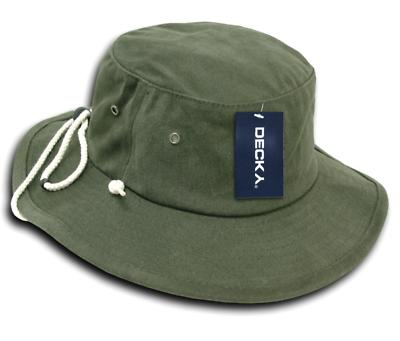Decky Original Drawstring Boonie Bucket Caps