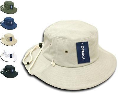 original aussie drawstring boonie bucket fishing outback