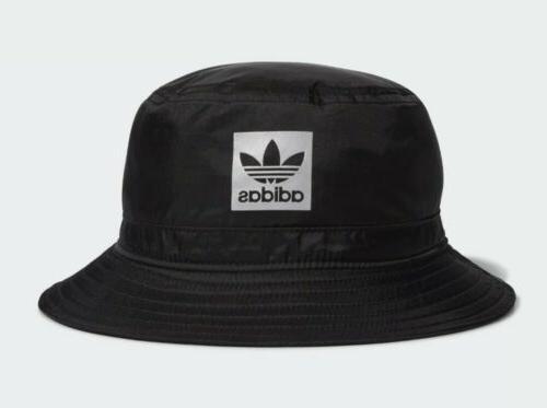 Adidas Bucket Hat Black Cap Ship!