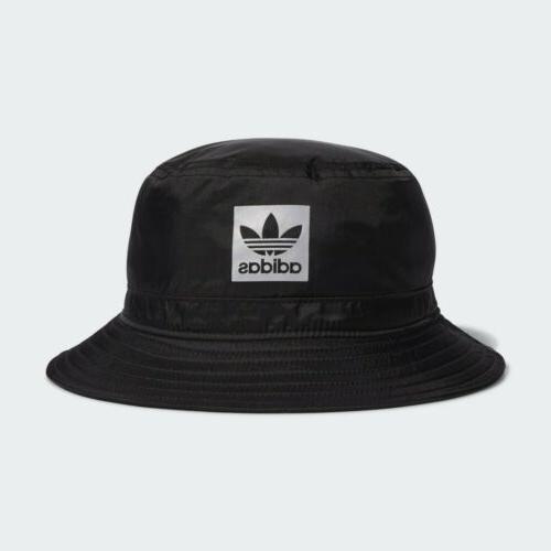 originals unisex nite bucket hats black reflective