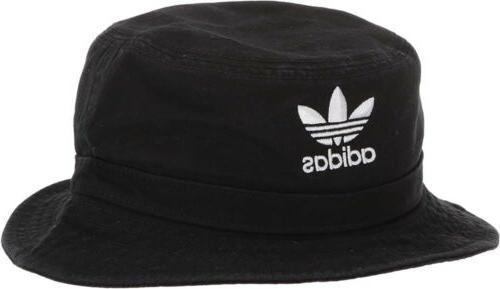 adidas Washed Bucket Hat White Camo Blue