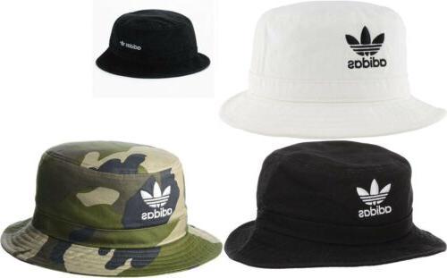 originals unisex washed bucket hat white black