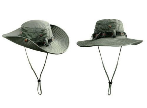 Outdoor Fishing Boonie Hat Brim Unisex