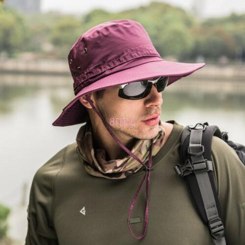 Outdoor Hunting Hat Wide Brim Sun Unisex