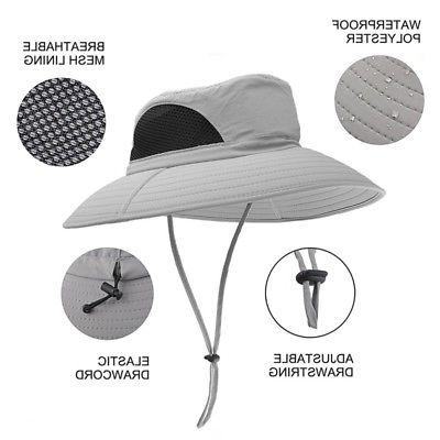 Outdoor Bucket Hat Cap Hiking Hunting Sun Hats