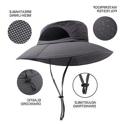 Outdoor Men Boonie Bucket Hat Cap Fishing Hiking Hunting Hats