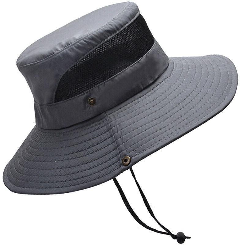 Outdoor Women Bucket Hat Safari Hat Cap