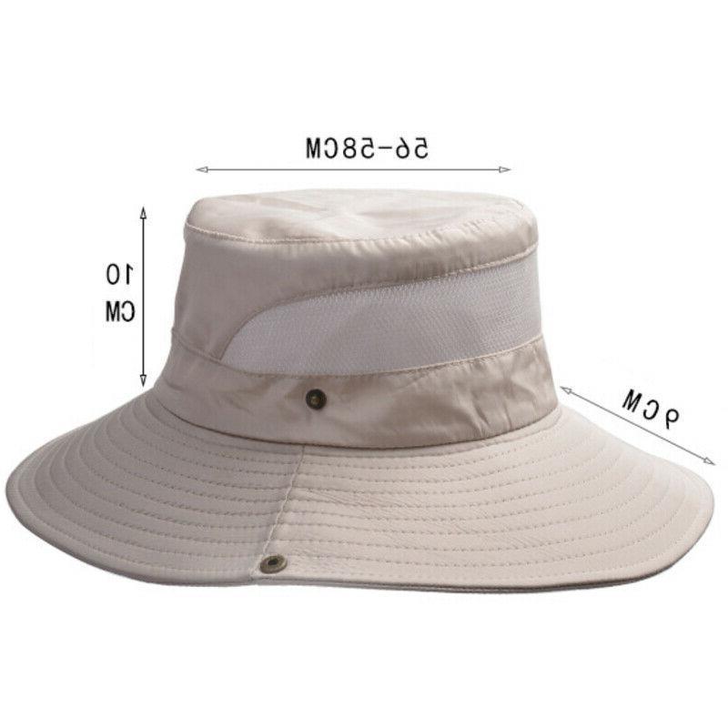Outdoor Bucket Safari Wide Sun Hat