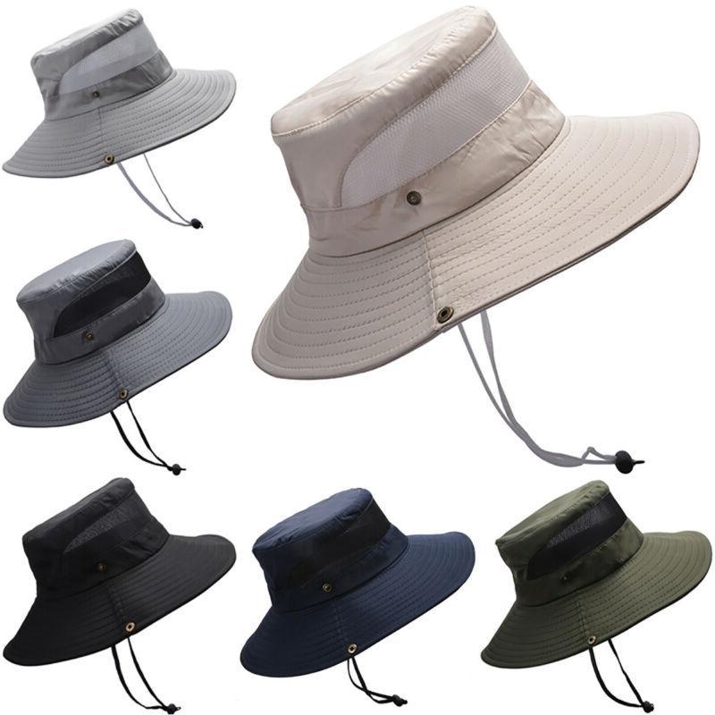 Outdoor Men Boonie Bucket Hunting Safari Wide Hat