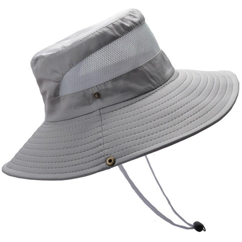 Outdoor Bucket Hat Safari Brim Hat Cap