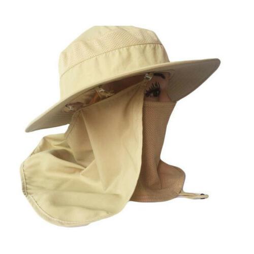 Outdoor Protection Ear Flap Sun Cap Hat