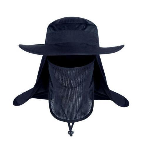 Outdoor Face Flap Neck Cap Hat