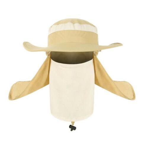 Outdoor Flap Sun Cap Bucket Hat US