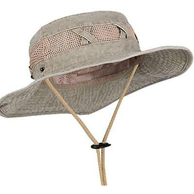 Outdoor Sun Brim Hat Safari Fishing